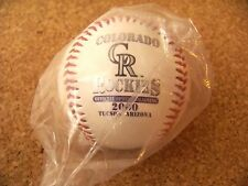 2000 Spring Training Colorado Rockies Spring Training baseball ball