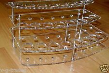 3 TIER  24 HOLES Stand Holder Display Acrylic ECIG Ego E-Cig Vapor Vaporizer