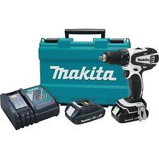 "New Makita XFD01RW 18-Volt LXT 2.0Ah Lithium-Ion 1/2"" Cordless Driver-Drill Kit"