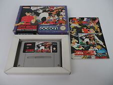 Ranma 1/2 English Version! (PAL) Super Nintendo SNES Complete in box CIB OVP