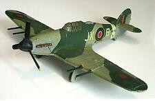 Vintage Meccano Dinky Diecast Airplane - Hawker Hurricane MK11