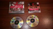 Sony Playstation 1 PS1-Metal Gear Solid #G48 En Caja