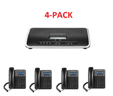 Grandstream Phone Bundle- UCM6202 + GXP1615 voIP PBX Business Phone System