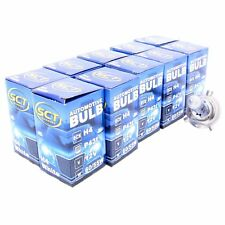 10x SCT H4 White Plasma Halogenlampe Leuchte 12V 60/55W Glühlampe LED Xenon