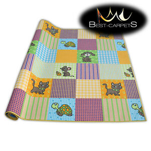 Fitted carpet for kids PETS Width 200, 400 cm extra long