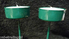 JOB LOT X 25 GREEN TEA LIGHT HOLDER & TEA LIGHT CANDLE TABLE DECORATION XMAS NEW