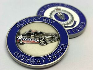 NSW Police Challenge Coin