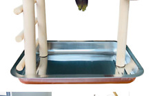 Pinvnby Table Top Parakeet Playground Parrot Playstand Pym Bird Training Perc.