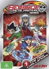 Beyblade Metal Masters - The New Challenges : Vol 1 (DVD, 2012) New  Region 4