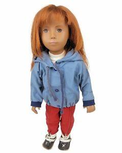 RARE Vintage 1960s Sasha Redhead German Gotz Doll W/ Ski Outfit