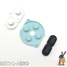 Gummipads conductive rubber Buttons A-B, D-pad for Game Boy Pocket GBP Silicone