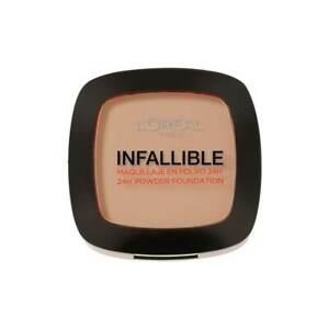 L'Oreal Infallible 24hr Powder Foundation 245 Warm Sand  9g