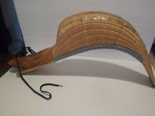 Vintage Jai Alai Vests Basket Scoop