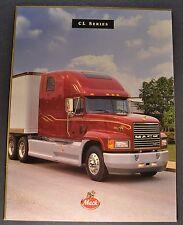 1996 Mack Truck Model CL Catalog Sales Brochure Excellent Original 96