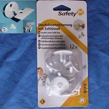 Steckdosensicherung 12 Stück Steckdosenschutz Kinderschutz Kindersicherung