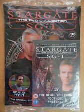 DVD COLLECTION STARGATE SG 1 PART 19 + MAGAZINE - NEW SEALED IN ORIGINAL WRAPPER