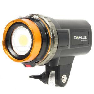 RGBlue System02 V.2 Premium Color Underwater Scuba Video Light Torch 2200 Lumen