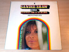 EX/EX- !! Sandie Shaw/Sings Puppet On A String/1967 World Stereo LP