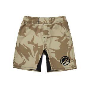 Shoyoroll Training Fitted Shorts Tan Camo BF20 ***Brand New***