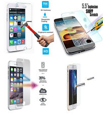 For Apple iPhone 6S Plus Screen Protector Tempered Glass Film Guard 5D Genuine