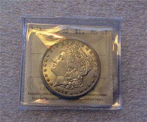 1888-S USA $1 Silver Morgan Dollar San Francisco Full Luster ICCS  MS