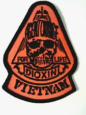 """Agent Orange Patch Sewn or Iron on   4""""L"""