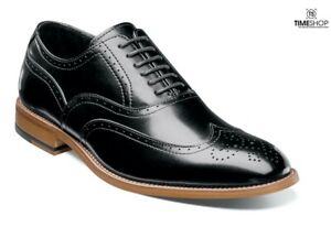 Stacy Adams Dunbar Wingtip Oxford Black 25064-001