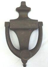 """Vintage Solid Brass Door Knocker 6 1/2""""H x 3 3/4""""W Door Hardware Screws Included"""