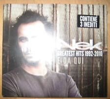 2 CDs Nek – Greatest Hits 1992-2010 - E Da Qui CD Craig David Filippo Neviani
