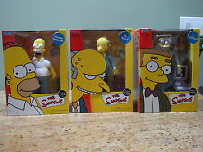 Lot of 3  Faces of Springfield Includes Homer, Mr. Burns, Smithers, NIB, USC#25