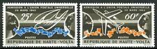 ALTO VOLTA (BURKINA FASO) - 1967 - Anniversario dell'ammissione all'U.P.U.