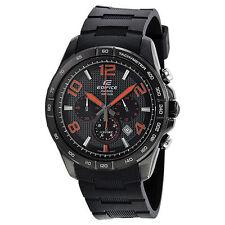 Casio EFR516PB-1A4 Ediface Black Resin Band Wrist Watch