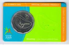 2006 RAM 50 cent UNC Coin - Melbourne Commonwealth Games - Shooting