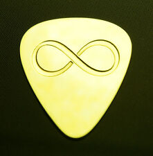 INFINITY - Solid Brass Guitar Pick, Acoustic, Electric, Bass