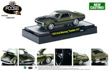GREEN 1970 MUSTANG FOOSE DESIGN M2 MACHINES 1:64 SCALE DIECAST MODEL CAR