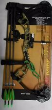 """@NEW@ PSE Mini Burner Youth Compound Bow Package! RH 16-26.5"""" 14-40lb."""