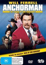 Anchorman - The Legend Of Ron Burgundy (DVD, 2013, 2-Disc Set)