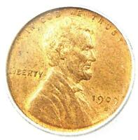 1909-S VDB Lincoln Wheat Cent Penny 1C - ICG MS63 RB (BU UNC) - Rare Key Date!