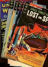Gold Key Classic Comics Mega Lot! *6 Books* Original! Space Family! Rare!