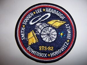 Space Shuttle  Discovery STS-82 Patch (Feb 1997)