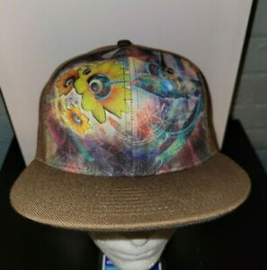 Grassroots California 420 Limited Edition Sonic Bloom Flat Bill Snapback Hat