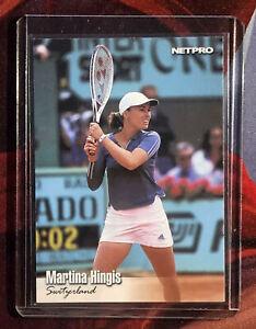 MARTINA HINGIS 2003 Netpro Tennis ROOKIE Card RARE SP #89 MINT SWITZERLAND RC🔥