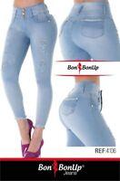 Jeans colombianos butt lifter fajas colombianas levanta cola Bon Bon Up 4206