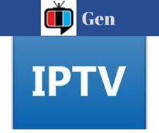 #1 GEN iptv very stable 1 month  for Boxes TVs Mobile firestick +APKs +m3u +EPG