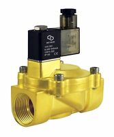 """1"""" Inch Brass Low Power Consumption Electric Air Water Solenoid Valve NC 12V DC"""