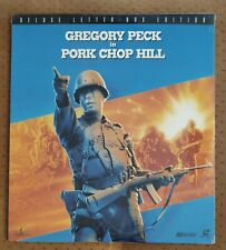 SEALED Pork Chop Hill Letterbox Laserdisc #ML101298 Gregory Peck