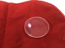 "Replacement Convex Glass Clock Parts 3 7/16"""