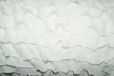 Ruffle Knit Fabric 95% Polyester 5% Spandex Lycra Stretch 8 Colors Skirt BTY