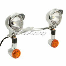 Passing Light Bar Turn Signals Fit Suzuki Intruder Volusia VS 700 750 800 1400