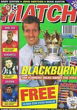 TIM FLOWERS BLACKBURN / MAN UTD / NEWCASTLE	Match	Jun	17	1995